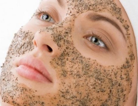 Exfoliate your face to remove dark spots and freckles