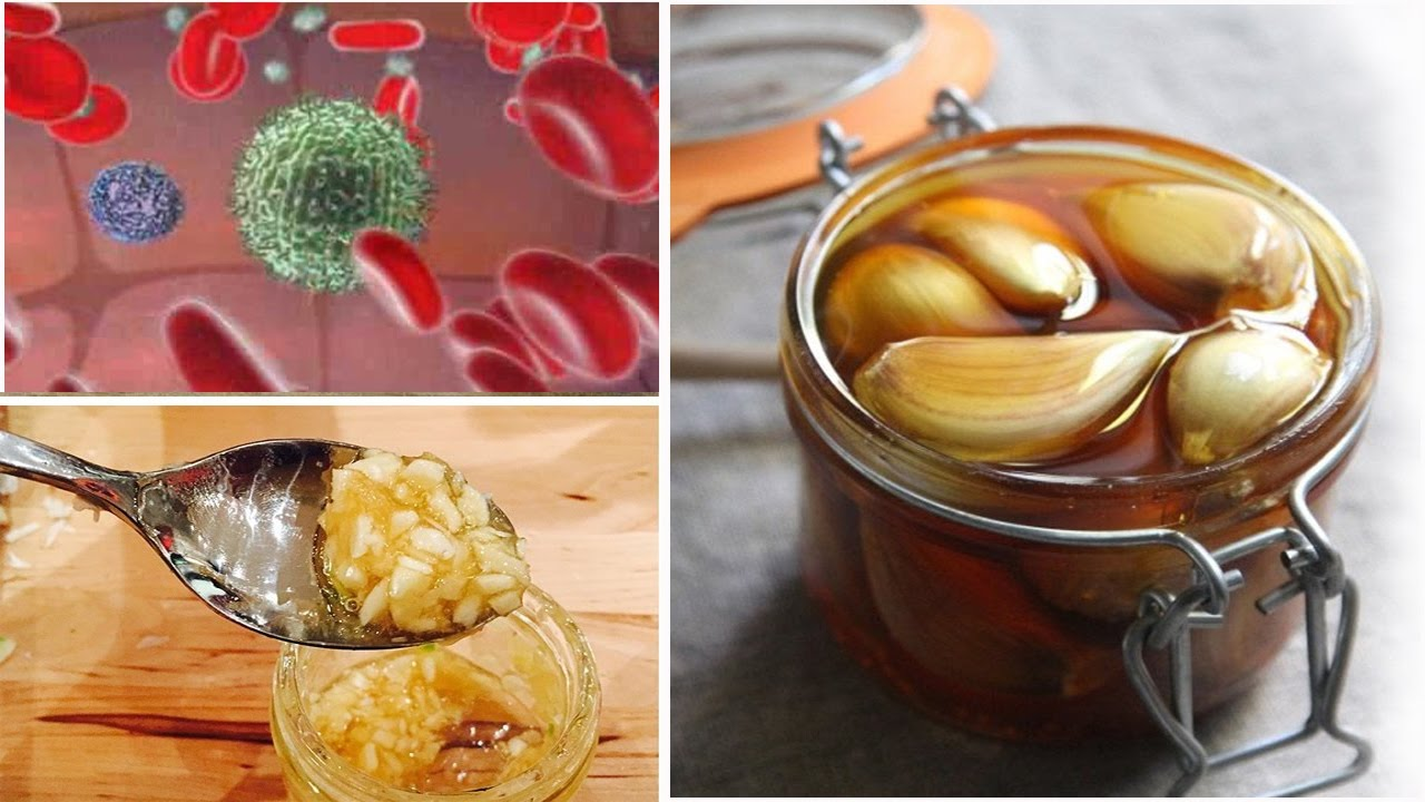 How to boost immunity with garlic and honey